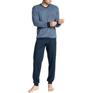 Calida Relax Imprint Pyjama With Cuff
