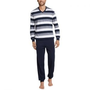 Schiesser Day and Night Long Pyjama With Cuffs